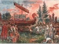 |†| Погребение в древнем мире. Погребение у славянских народов