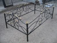 |†| Установка оград на кладбище
