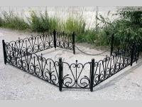 |†| Кованые ограды для могилы